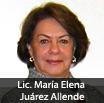 Lic. María Elena Juárez Allende